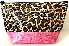 ACEL-Leopard Brown/Pink
