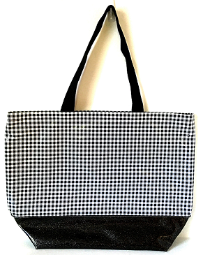 BB-Gingham Black/Black