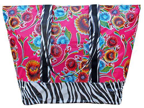 MCO-Sweet Flower Pink/Zebra Black