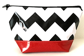 EG-Chevron Black/Red
