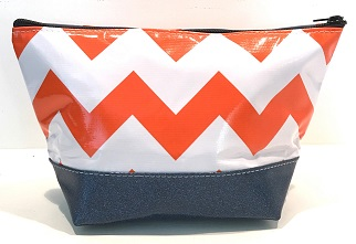 EG-Chevron Orange/Blue