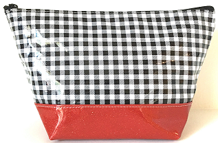 EG-Gingham Black/Red