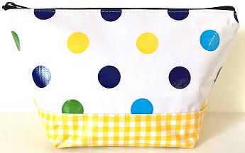 EL-Big Dot Blue/Gingham Yellow