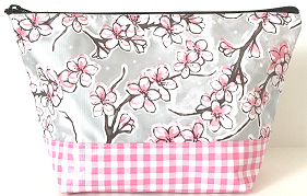 EL-Cherry Blossom Silver/Gingham Pink