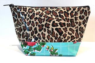 EL-Leopard Brown/Rosegal Aqua
