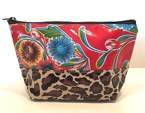 EL-Sweet Flower Red/Leopard Brown