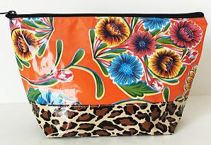 EL-Sweet Flower Orange/Leopard