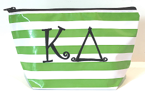 LGCOS-Stripe Green Greek Kappa Delta Curls