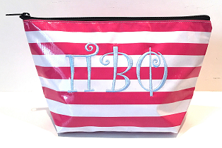 LGCOS-Stripe Pink Greek Pi Beta Phi Curls