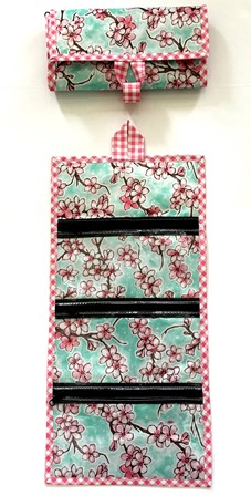CA-Cherry Blossom Mint/Gingham Pink