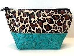 LCEL-Leopard Brown/Turqoise
