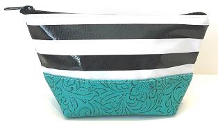 LCEL-Stripe Black/Turquoise