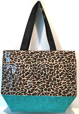 LC-Leopard Brown/Turquoise