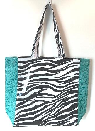 LCMKT-Zebra Black/Turquoise