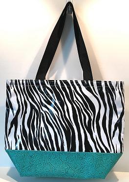 LC-Zebra Black/Turquoise