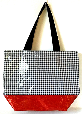 BB-Gingham Black/Red