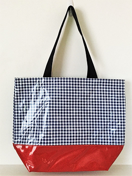 LGT-Gingham Navy/Red