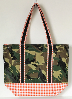 MCO-Camo Green/Gingham Orange