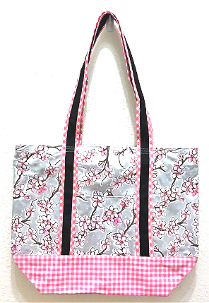 MCO-Cherry Blossom Silver/Gingham Pink