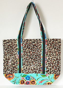 MCO-Leopard Brown/Sweet Flower Aqua