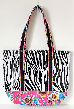 MCO-Zebra Black/Sweet Flower Pink