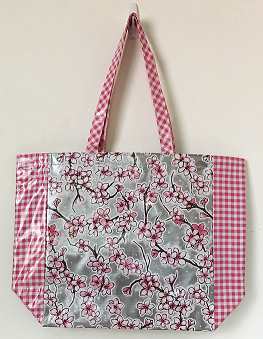 MKT-Cherry Blossom Silver/Gingham Pink