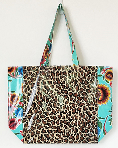 MKT-Leopard Brown/Sweet Flower Aqua