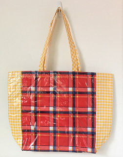MKT-Plaid Red/Gingham Yellow