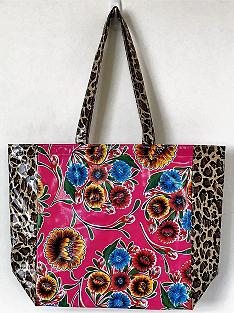 MKT-Sweet Flower Pink/Leopard Brown