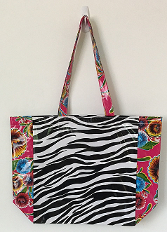 MKT-Zebra Black/Sweet Flower Pink