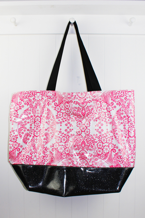 BB-Lace Pink/Black