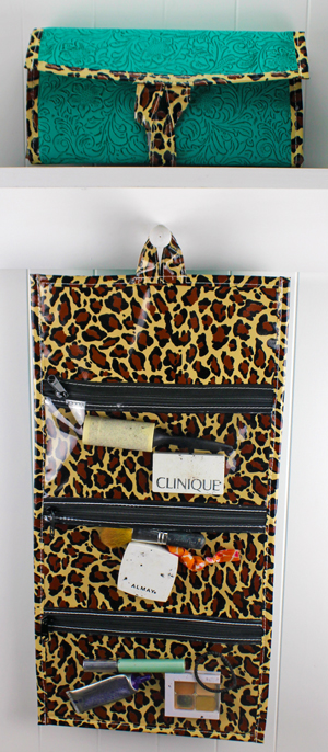 CA-Leopard Brown/Turquoise Laredo