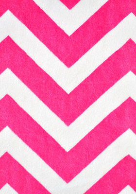 PIL-Chevron Hot Pink