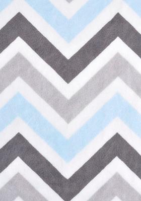 PIL-Chevron Light Blue & Grey