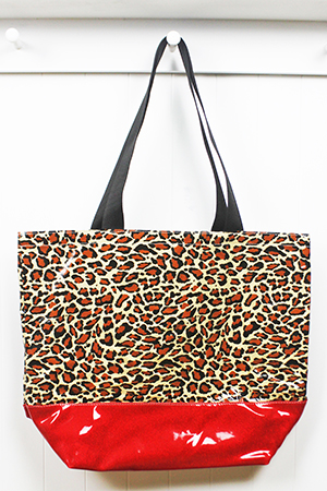 BB-Leopard Brown/Red