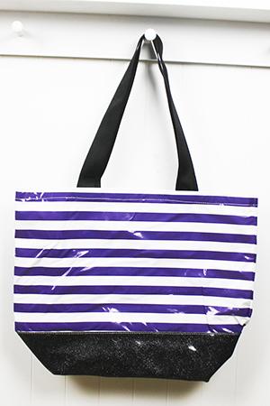 BB-Stripe Purple/Black