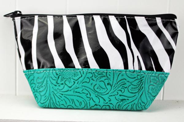 LCEL-Zebra Black/Turquoise